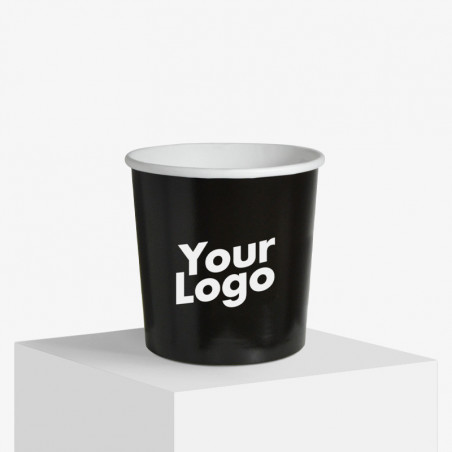 Pot à glace en carton 300 ml personnalisable avec votre logo